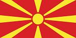 Fanion du club de 'Macédoine du Nord'